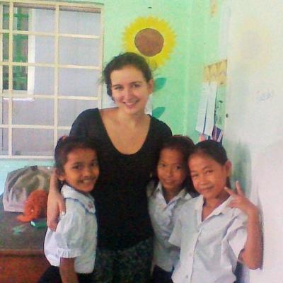 Ekaterina L in Cambodia